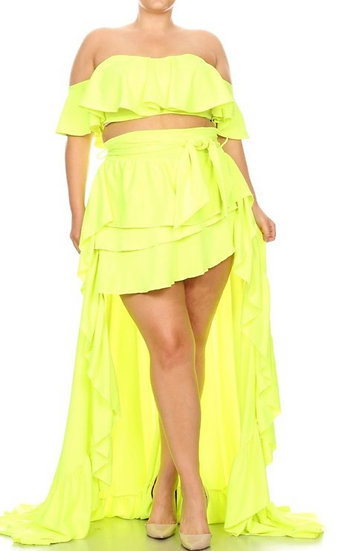 Island Vibes 2 piece skirt set