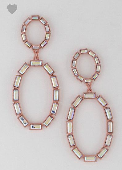 Pink Champagne Earrings