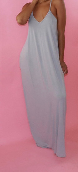 Cozy to the Max Maxi dress with pockets