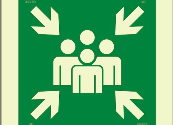 Е21 «Пункт (место) сбора»