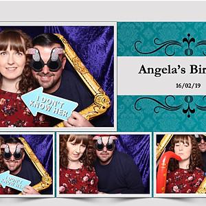 Angela's Birthday Party