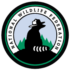 National Wildlife Federation logo with Ranger Rick character sitting on a hill.