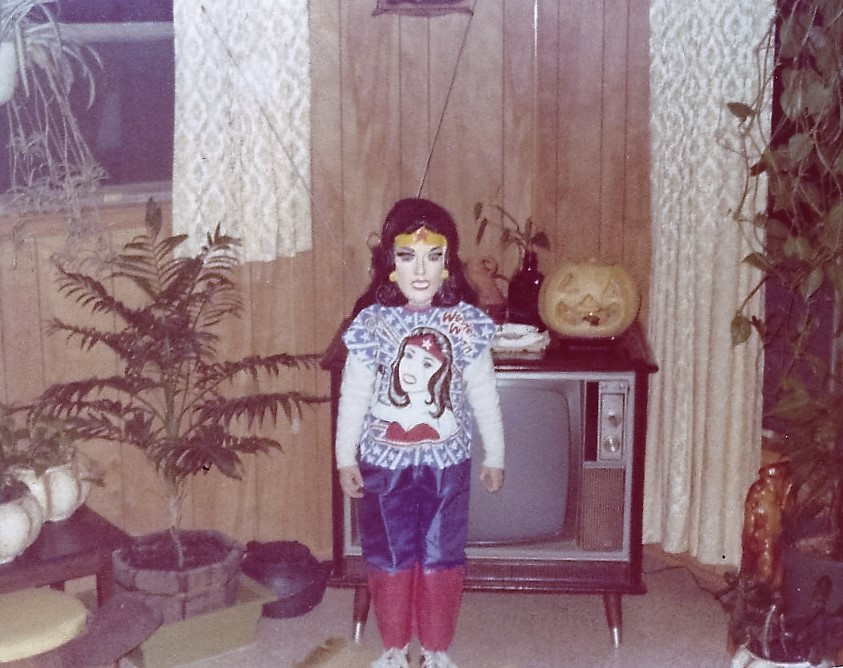 Yes, that's me, Halloween 1978.