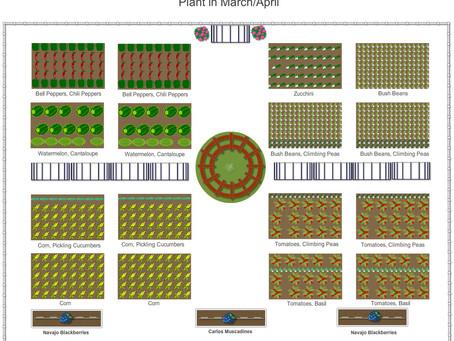 Growing Our Own: 2017 Spring Vegetable Garden Plan