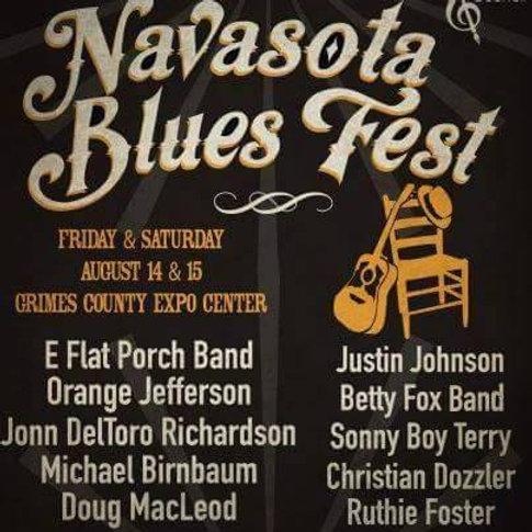 2016 Navasota Blues Festival Ticket
