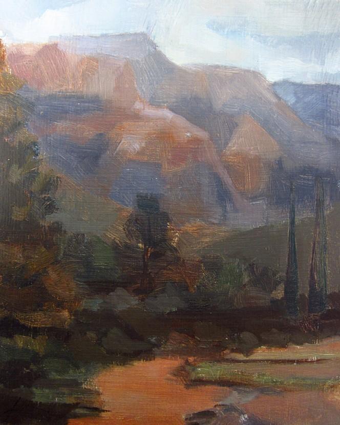 Sedona Overcast