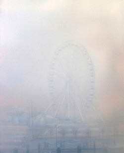 Ferriswheel in the Fog