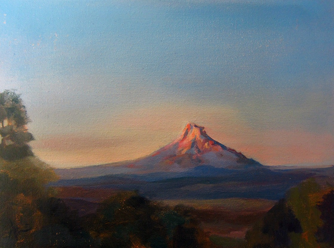 Puccini, Coffee and Mount Hood