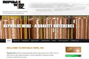 Republic Wire Inc. Website