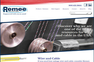 Remee Wire and Cable Website
