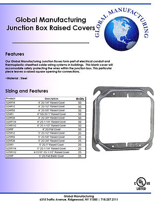 Junction Box Raised Covers Double Gang S