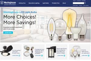 Westinghouse Lighting Website