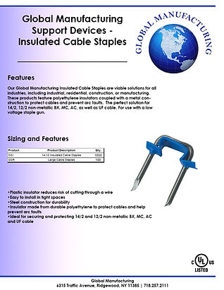 Support Devices - Low Voltage Insulated