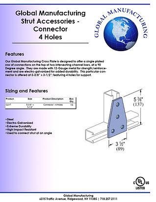 Strut Accessories - Connector 4 Holes.jp