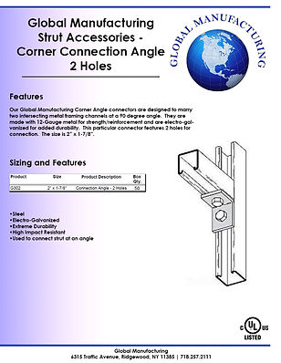 Strut Accessories - Corner Connection An