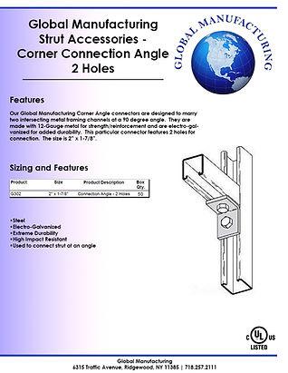 Strut Accessories - Corner Connection An
