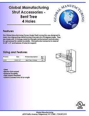Strut Accessories - Bent Tree 4 Holes.jp