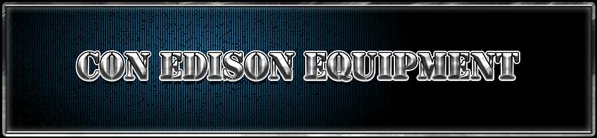 CON EDISON EQUIPMENT