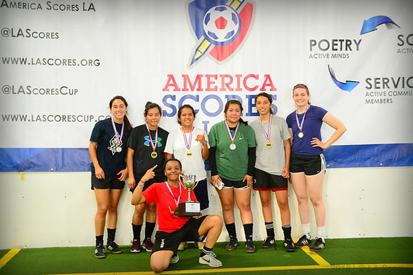 2018 Women's Futsal SLAM Champions