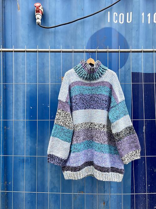 FREDDY SWEATER / Knitting pattern (Danish)