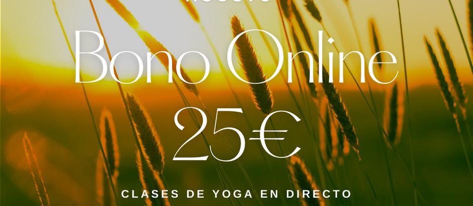 Clases de yoga online para cuidarte