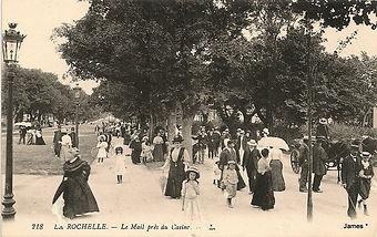 Chalet des fleurs -carte postale ancienn