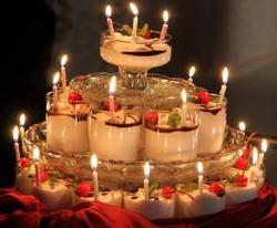 Авторский хрустальный торт