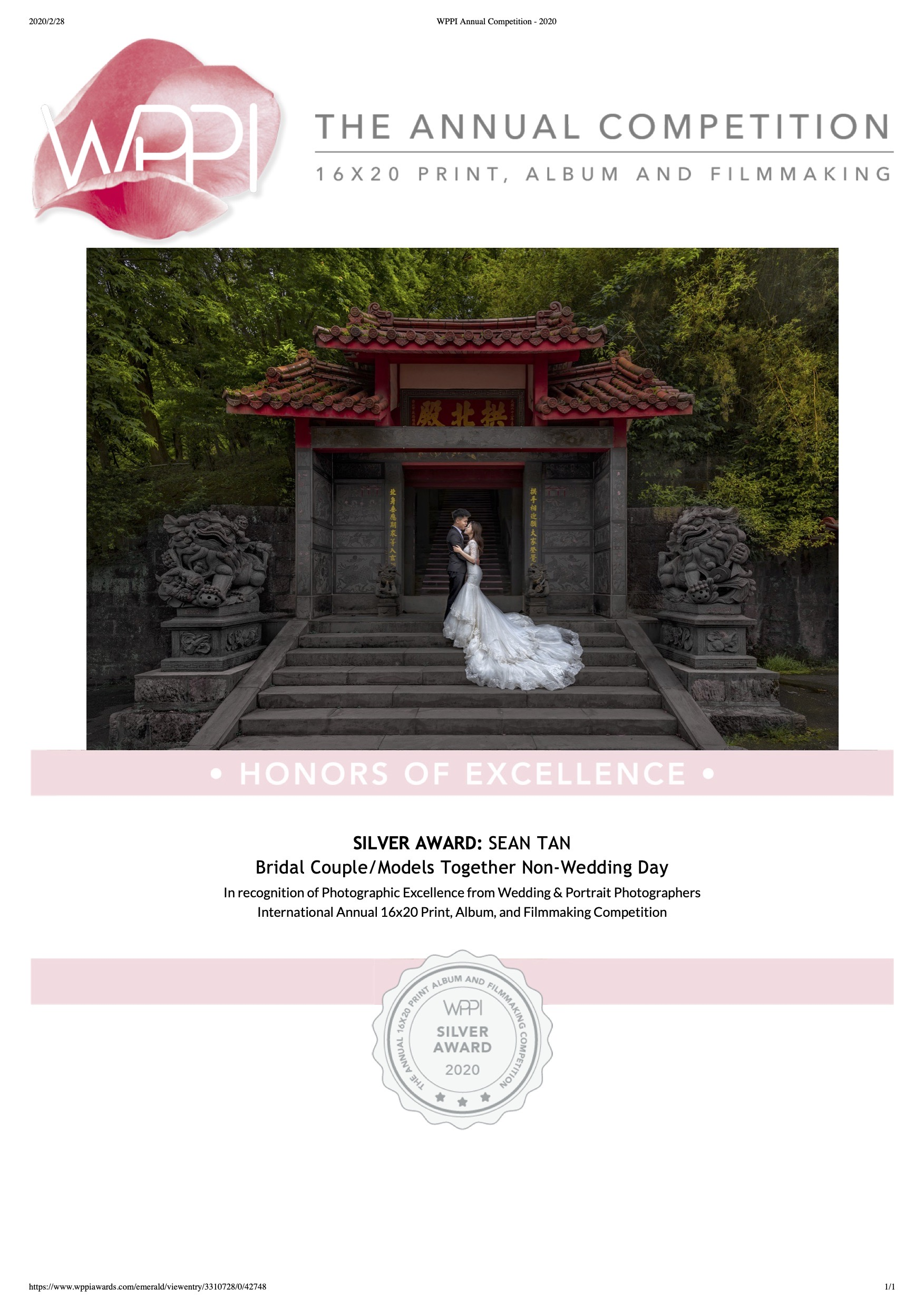 WPPI Annual Competition - 2020-4