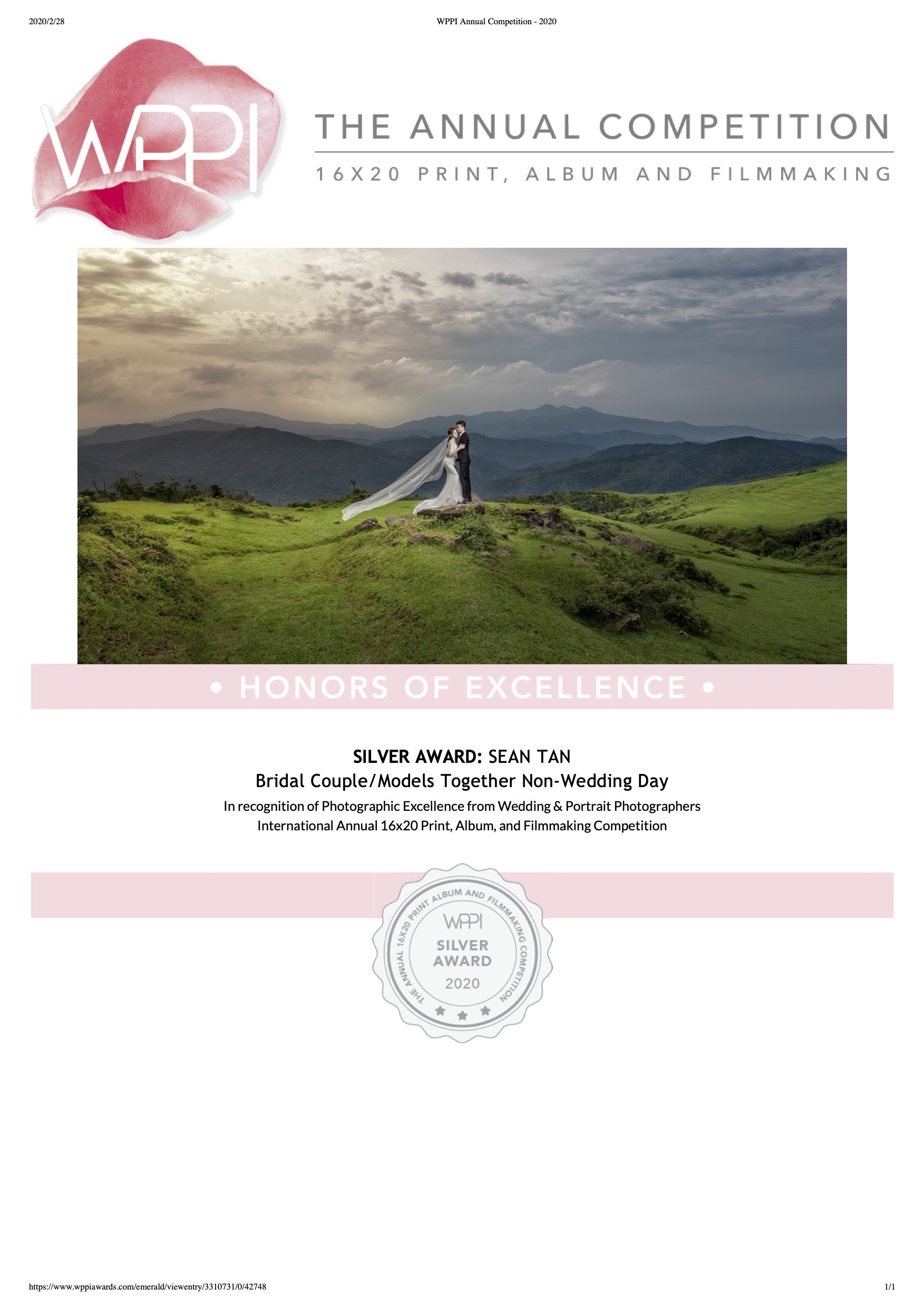WPPI Annual Competition - 2020-3