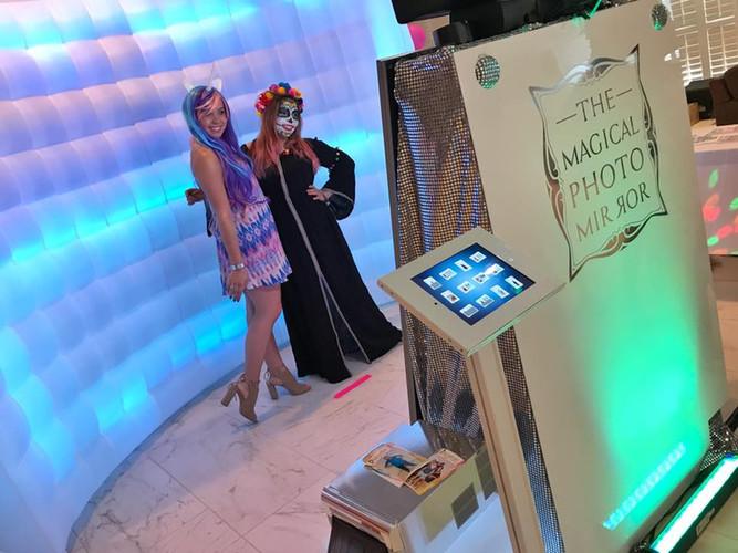 Magic Mirror Photo Booth Rental Fort Lauderdale Miami South Florida