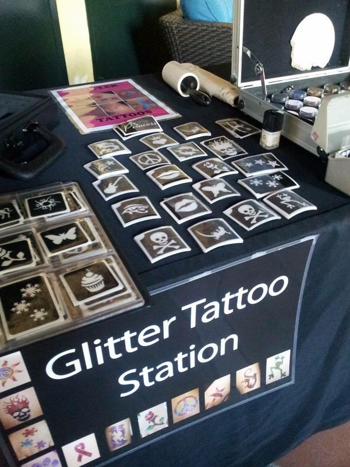 Glitter tattoos, AirBrush Tattoos, m
