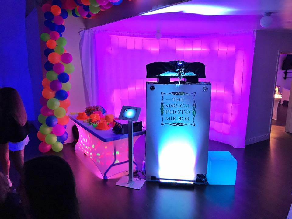 Magic Mirror Photo Booth Rental Fort Lauderdale Miami South Florida