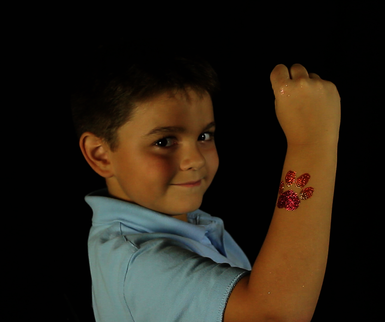 Glitter tattoos, AirBrush Tattoos