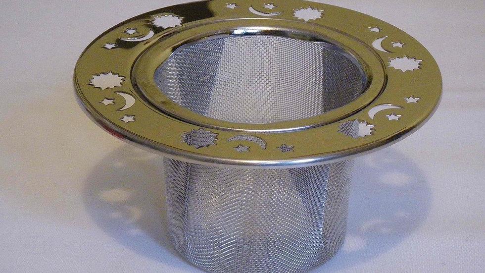 Tea Mug Infuser - Sun, Moon & Stars design