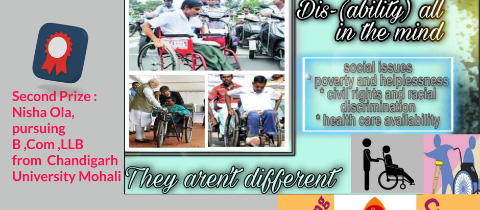 RESULTS OF INSTAGRAM SOCIAL POST ONTEST organised by Youth for Divyangjan