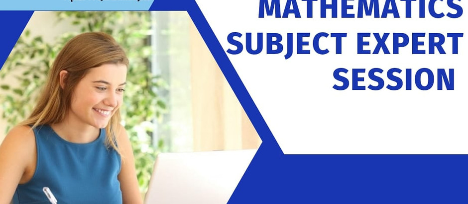 Mission Boards : Webinar Series (Subject -Grade 12th Mathematics for Board Examination students)