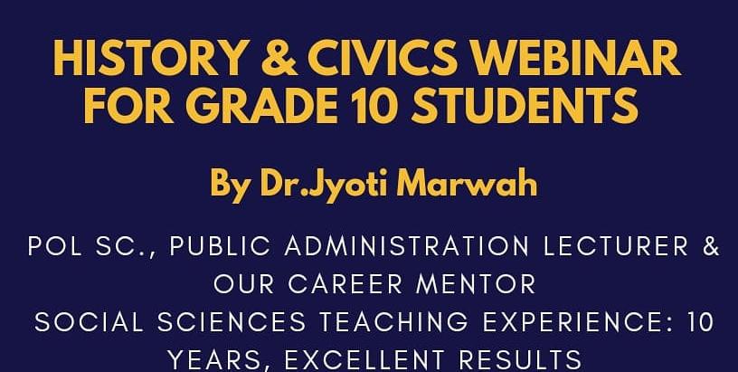 SsT ( History & Civics) for Grade 10
