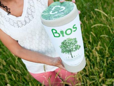 Urna Biodegradável: Transforma cemitérios em floresta