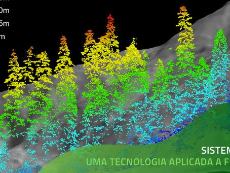 LiDAR uma das mais promissoras tecnologias aplicado a florestas