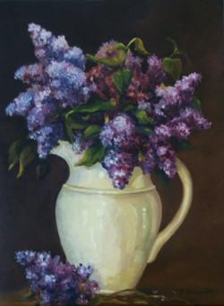 Lilac bouquet 24x18