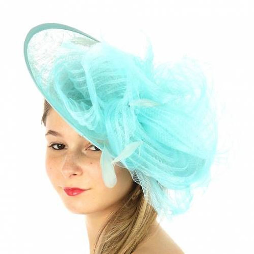 #35 Aqua - On a headband