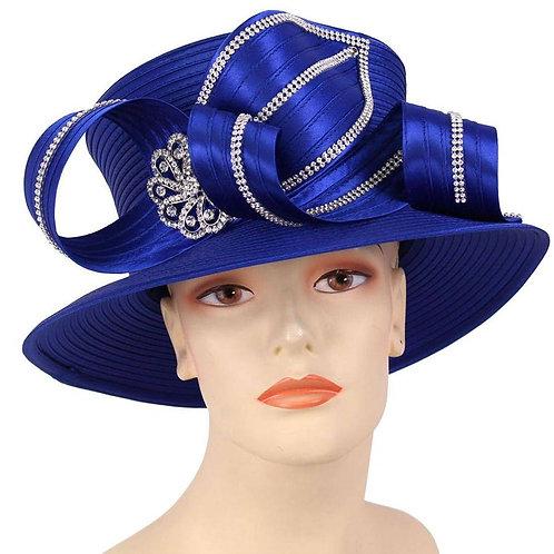 #199 Royal Blue Satin Ribbon