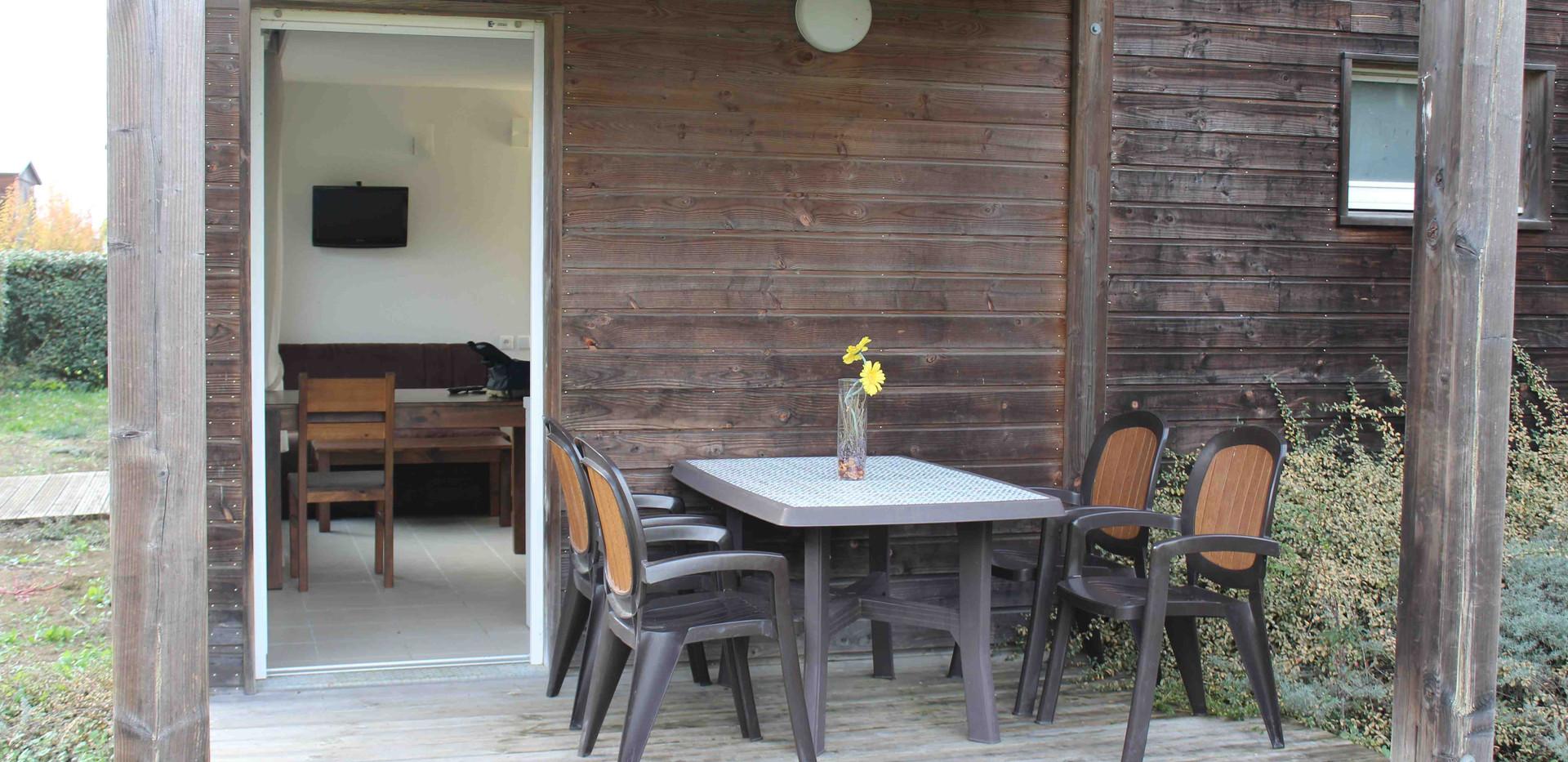 Appartement T2 - Terrasse privée - Location vacances Gers - Domaine de Saint Orens