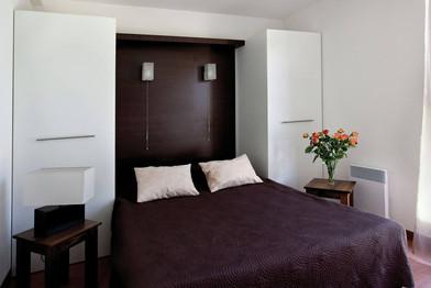 Appartement T2 - Chambre 2 pers - Location vacances Gers - Domaine de Saint Orens
