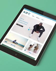 NTC Brochure Website Design