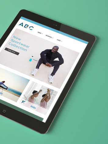 Athletic Web Design