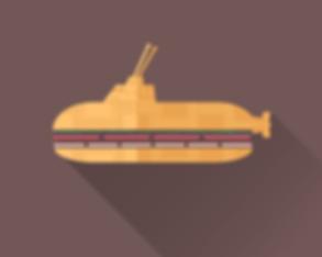 submarine sandwich illustration