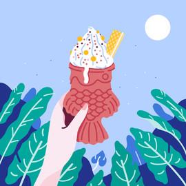 Teiyaki Ice Cream