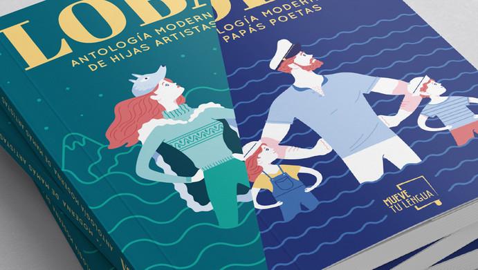 Lobo / Loba Book Covers