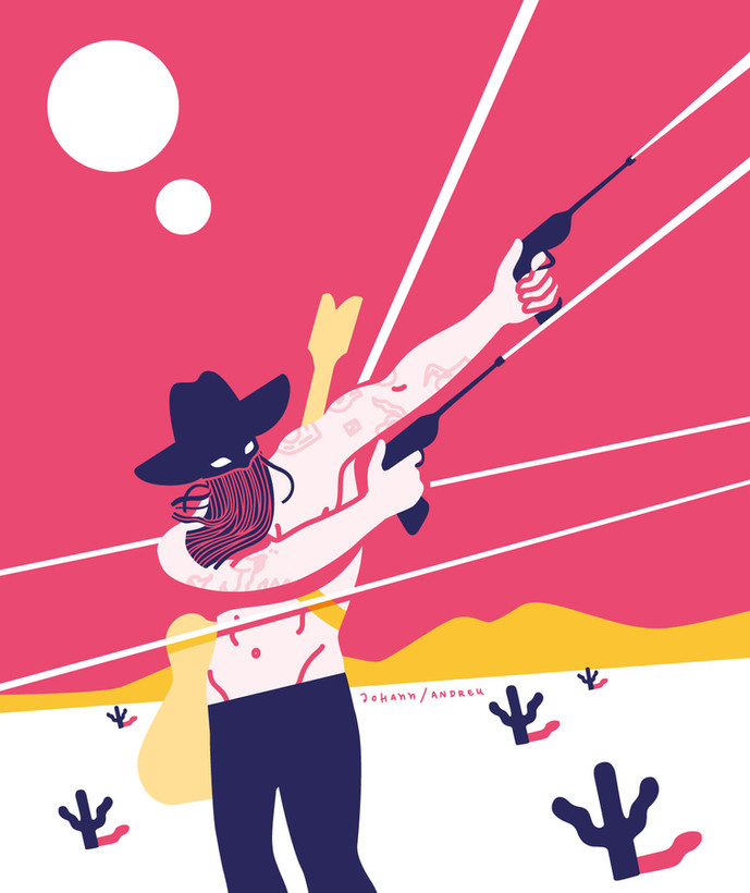 Orville Peck / In the Middle of a Gunfire